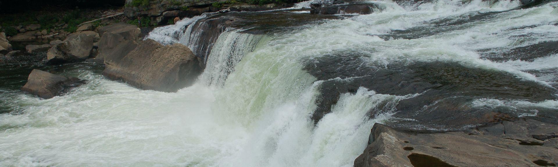 Cucumber Falls, PA, USA