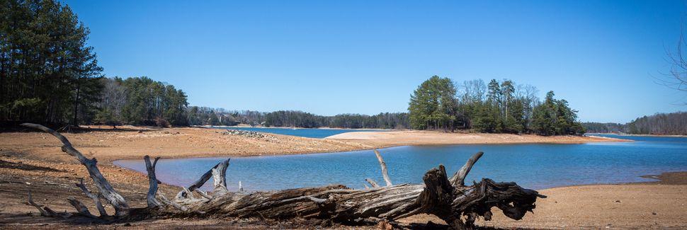 Lake Lanier, Gainesville, Géorgie, États-Unis d'Amérique