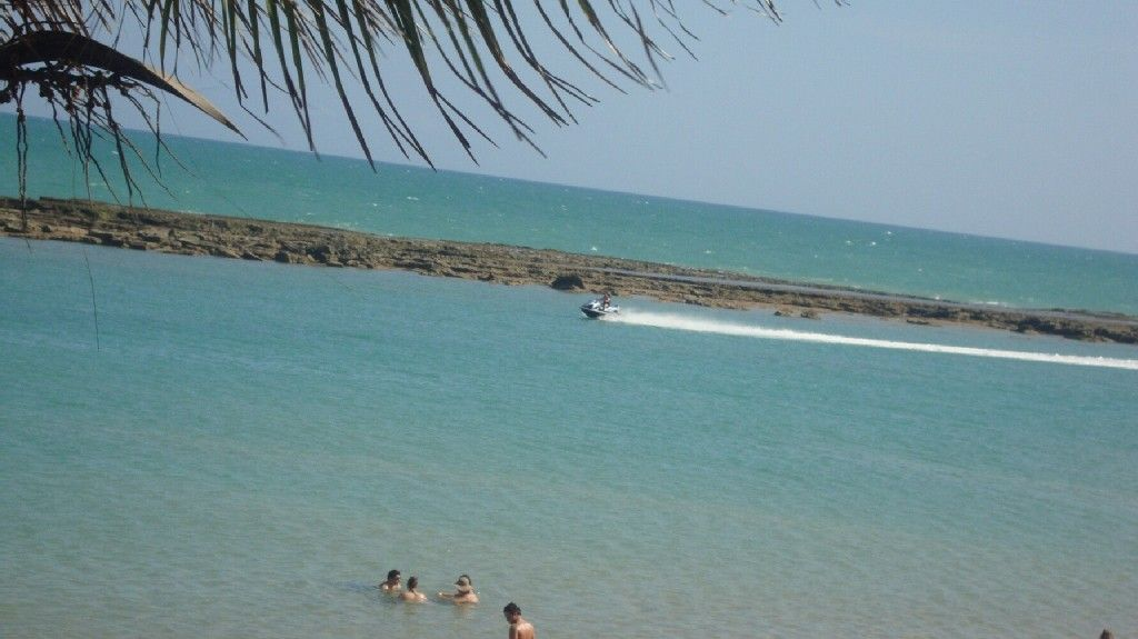 Praia de Barra de São Miguel, Barra de São Miguel, Alagoas, Brasil