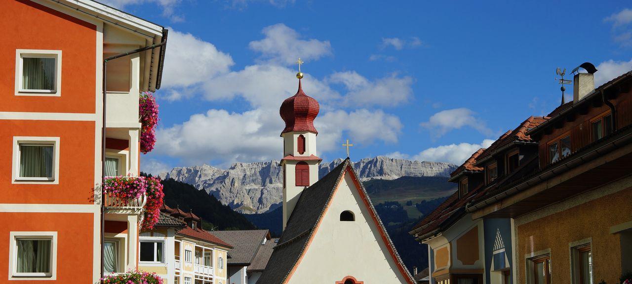 Val Gardena, Trentino-Zuid-Tirol, Italië