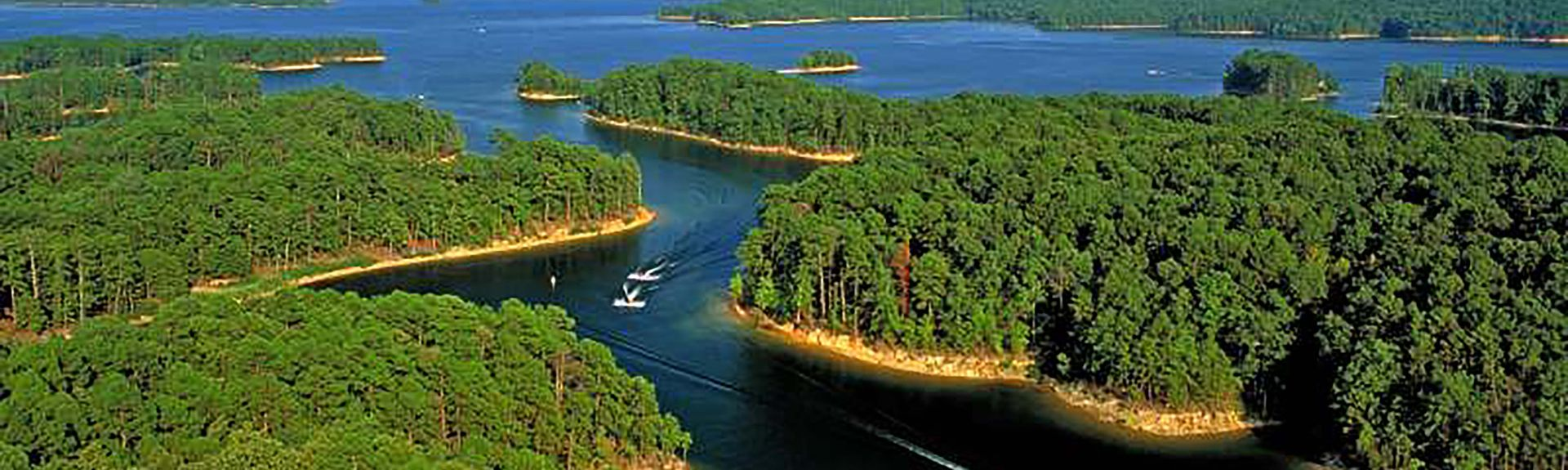 Lake Hamilton and Lake Catherine, Jessieville, Arkansas, États-Unis d'Amérique