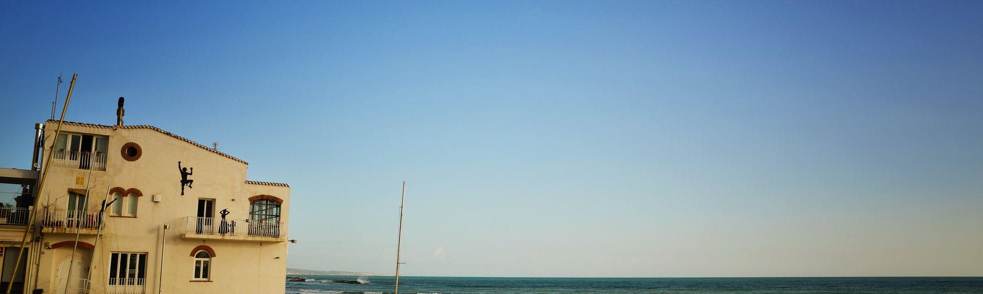Marina di Ragusa, Ragusa, Sizilien, Italien