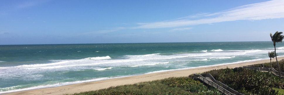 Herman's Bay Beach, Jensen Beach, Florida, Verenigde Staten