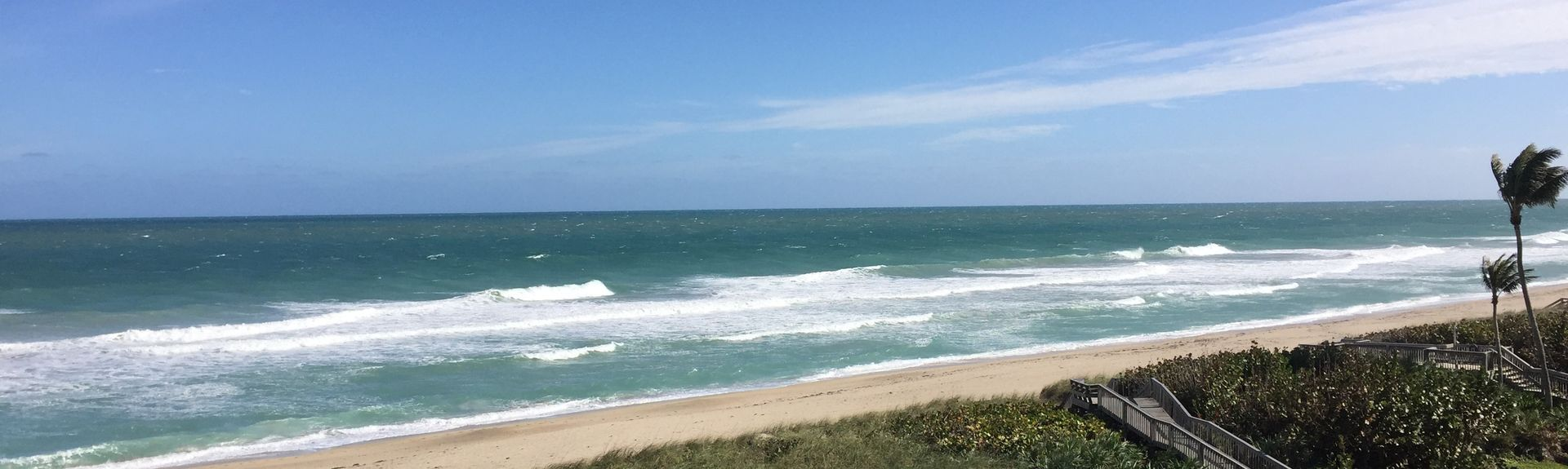 Herman's Bay Beach, Hutchinson Island South, Florida, United States