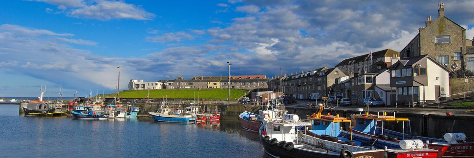 Seahouses, Northumberland, UK