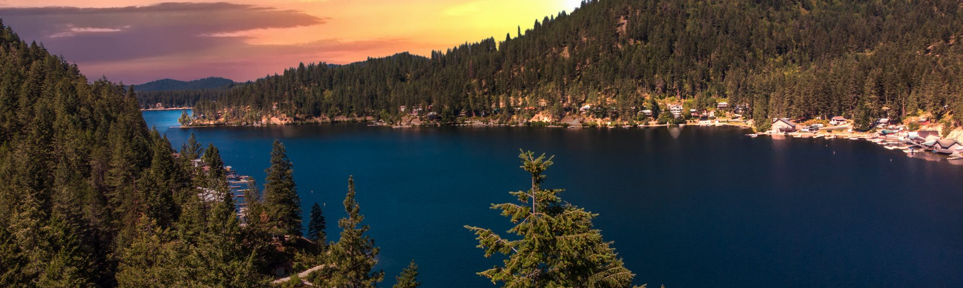 Deer Lake, Loon Lake, Washington, USA