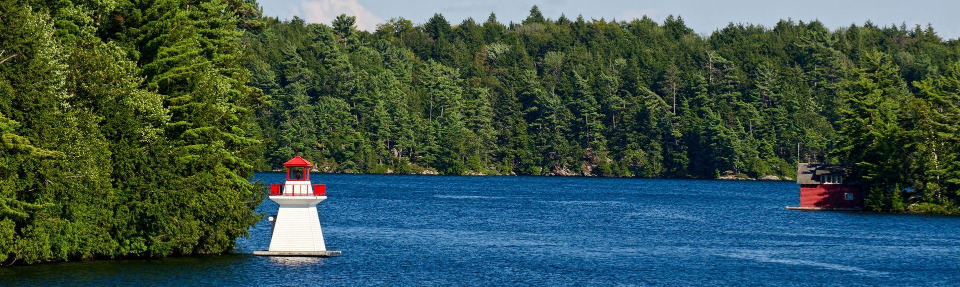 Lake Joseph, MacTier, Ontario, Canadá