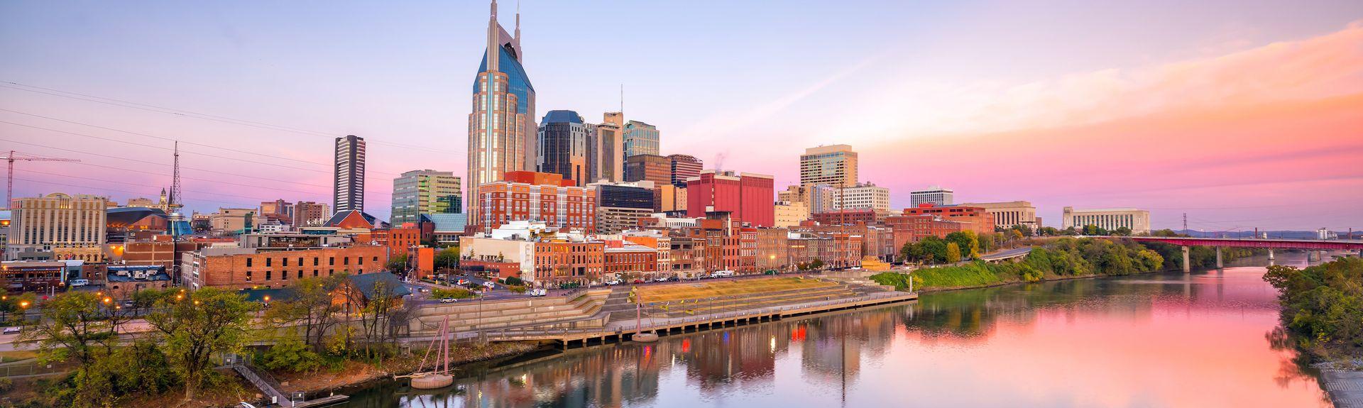 Binnenstad van Nashville, Nashville, Tennessee, Verenigde Staten