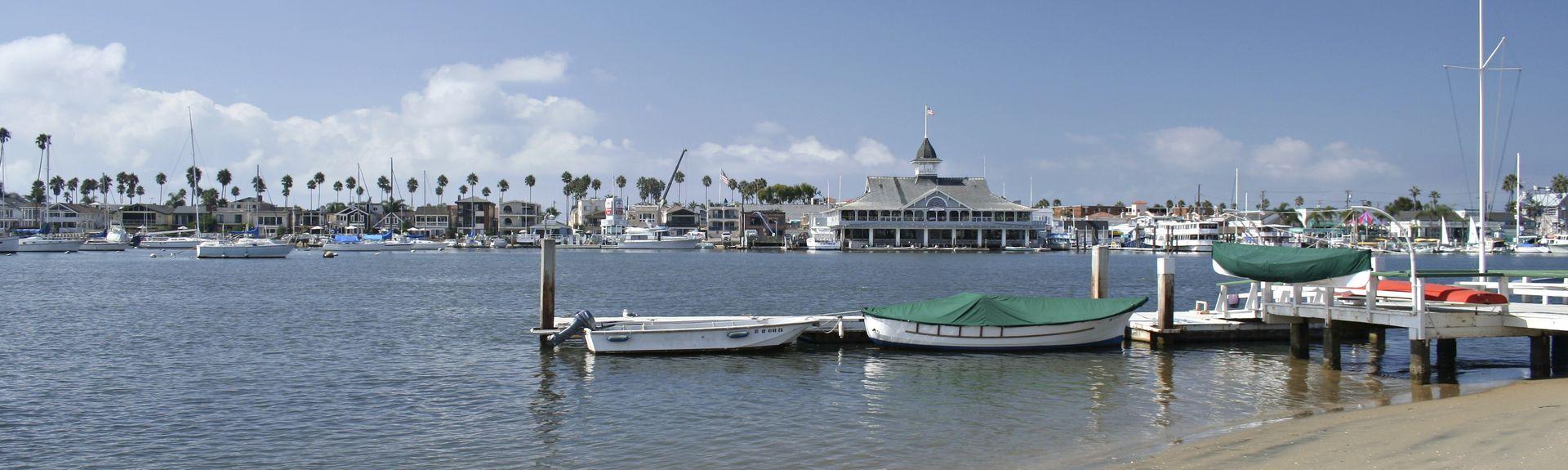 Balboa Island, Newport Beach, Kalifornien, Vereinigte Staaten