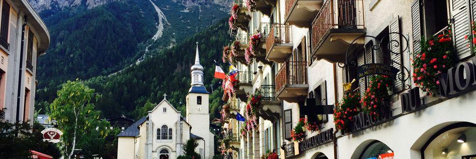 Chamonix-Mont-Blanc, Haute-Savoie, Auvergne-Rhône-Alpes, France
