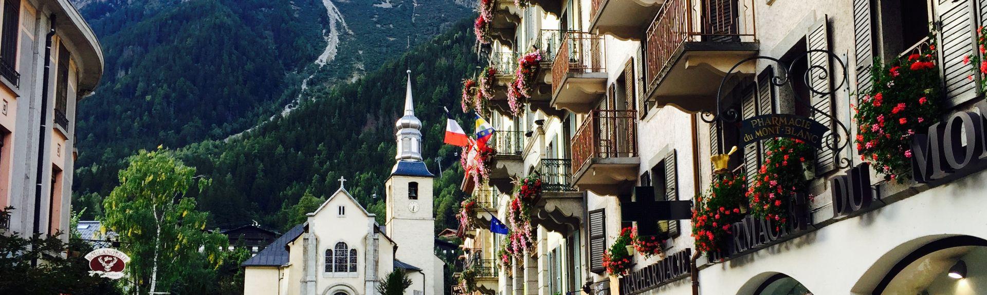 Chamonix-Mont-Blanc, Haute-Savoie (department), France