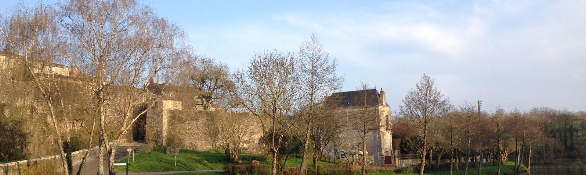 Nalliers Station, Nalliers, Pays de la Loire, France