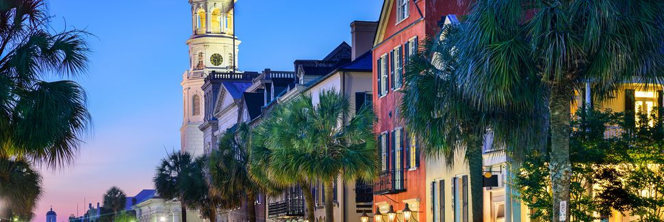 Historic Old City, Charleston, SC, USA