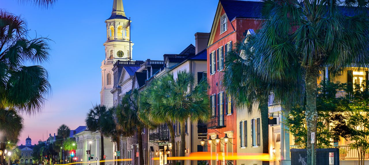 Historic Charleston, Charleston, Carolina do Sul, Estados Unidos