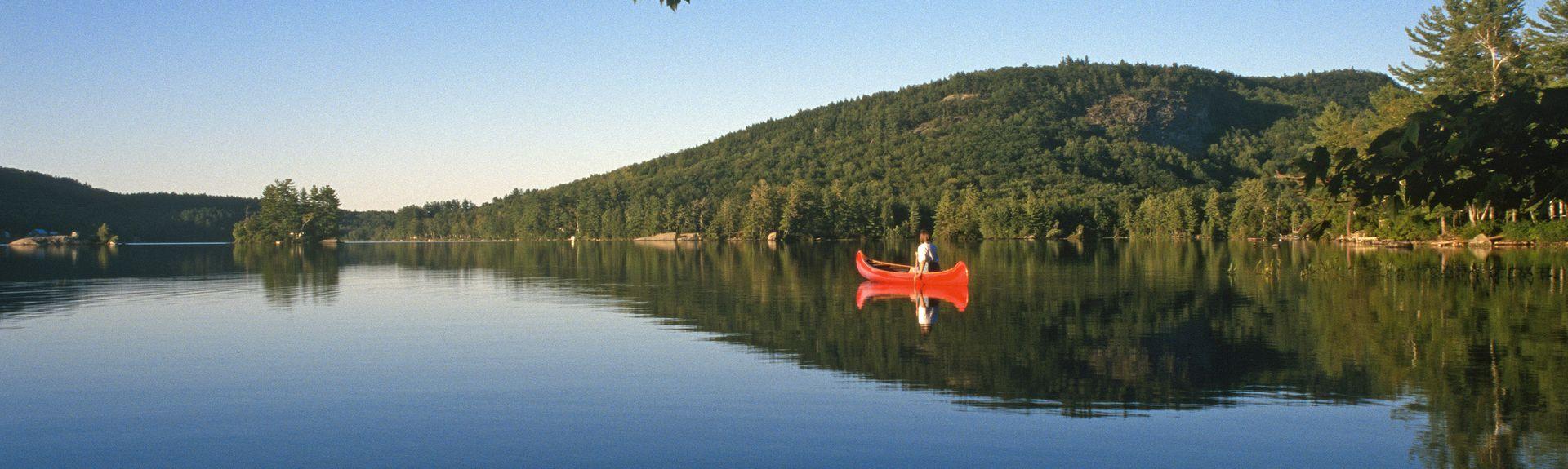 Woodstock, Bryant Pond, Maine, United States of America