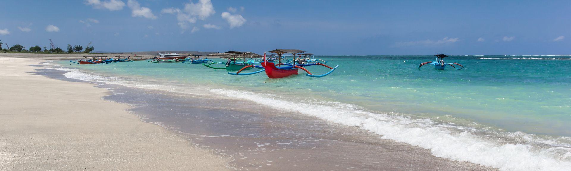 Praia de Kuta, Kuta, Bali, Indonésia