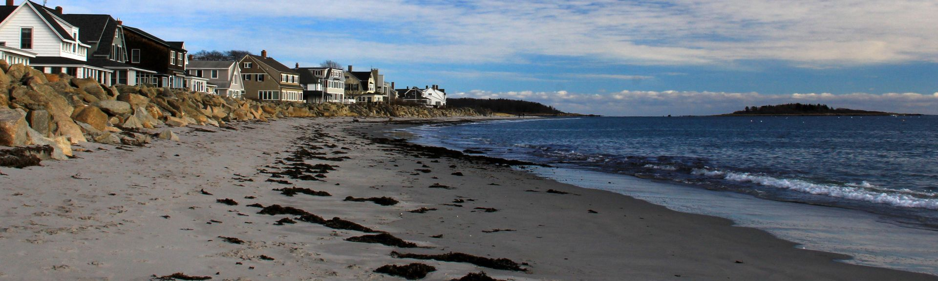 Goose Rocks Beach, Kennebunkport, Maine, Estados Unidos