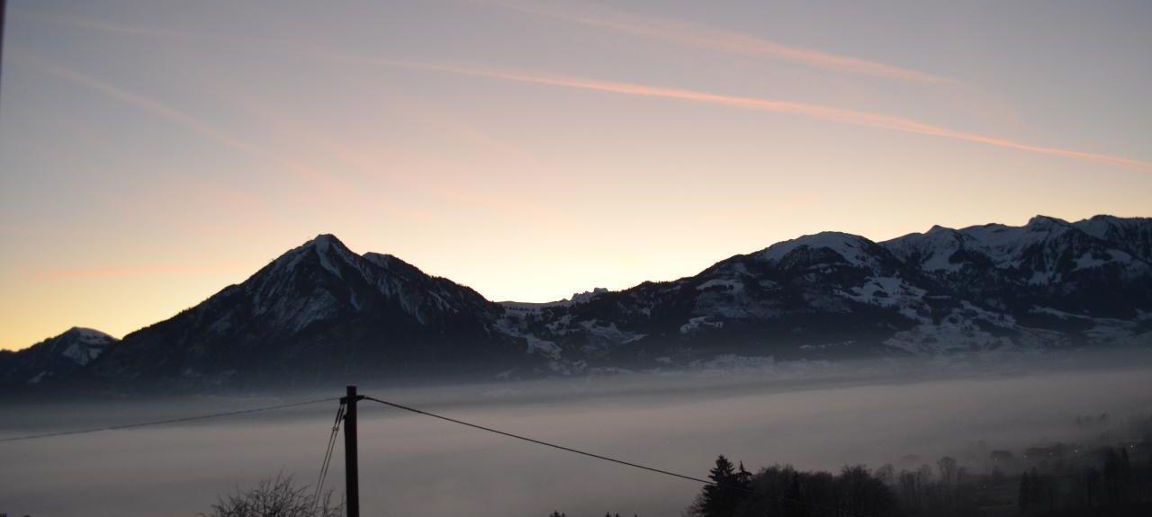 Flueelen Station, Switzerland