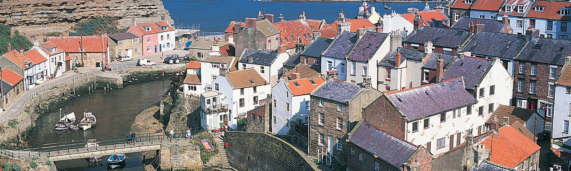 Staithes, North Yorkshire, UK