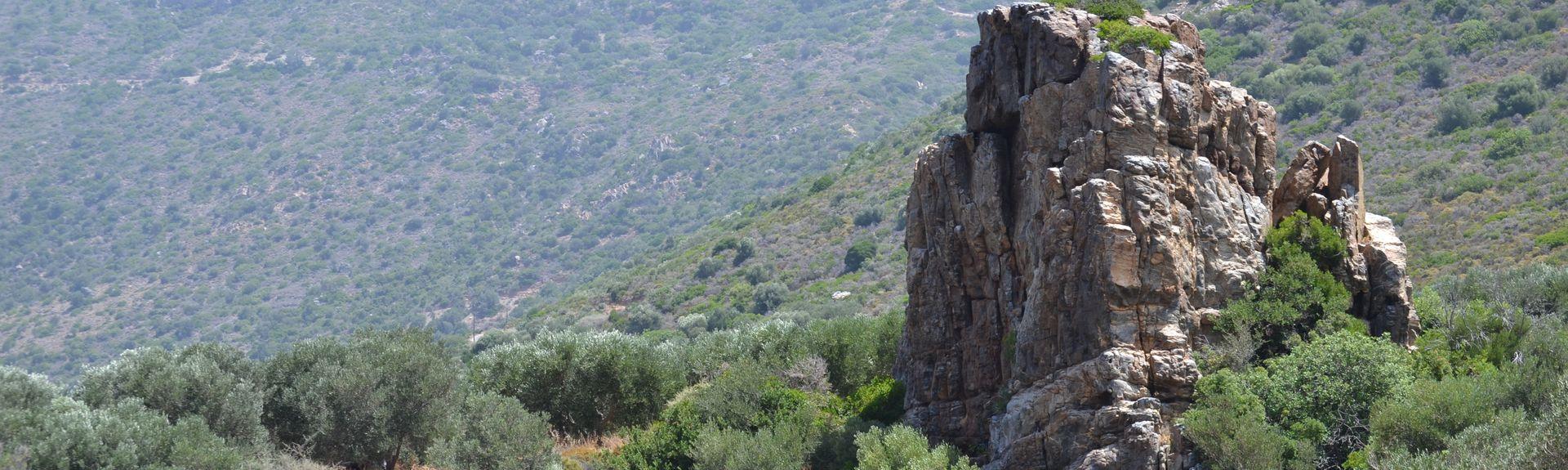 Elafonisin ranta, Kíssamos, Kreeta, Kreikka