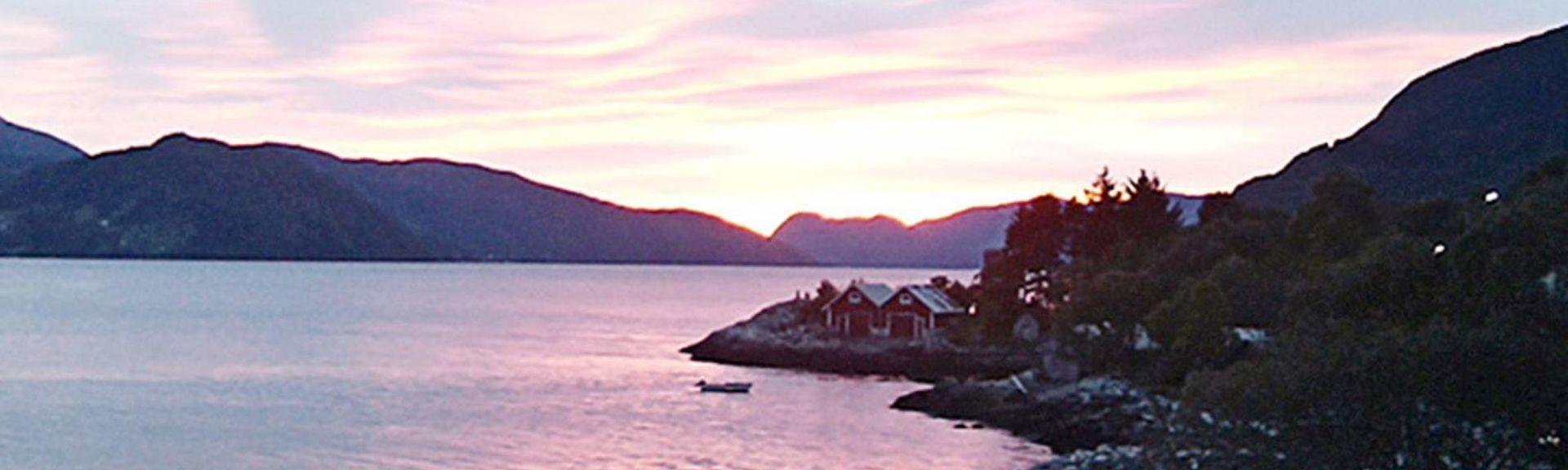 Vågsøy, Comté de Sogn og Fjordane, Norvège
