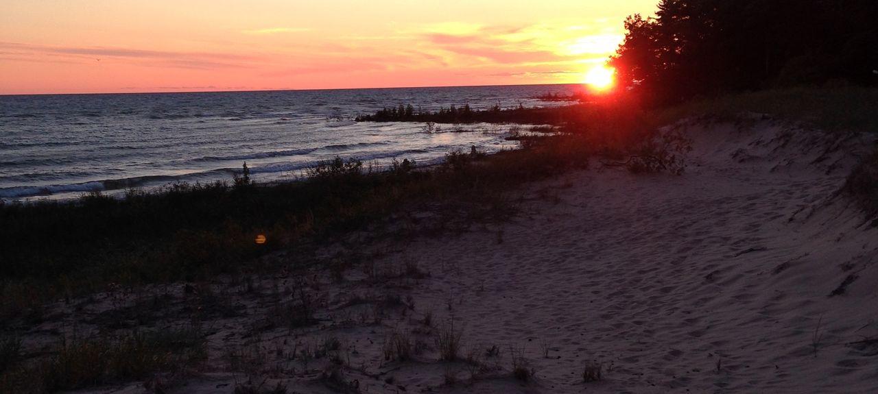 Brevort Lake, Moran, Michigan, États-Unis d'Amérique