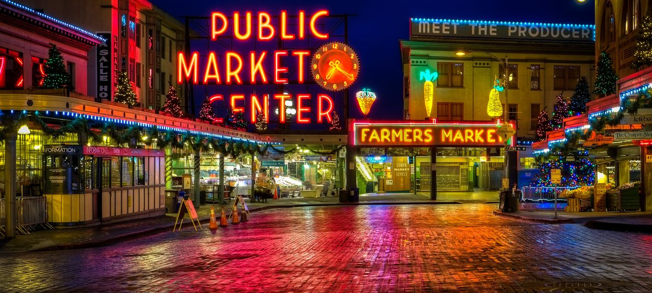 Pike Place Market, Seattle, Washington, Vereinigte Staaten