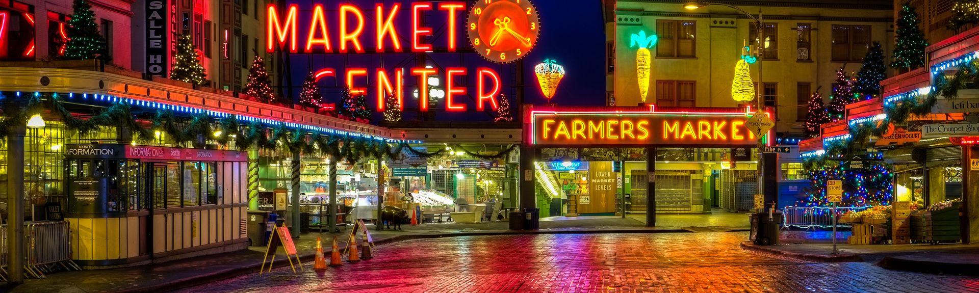 Pike Place Market, Seattle, Washington, United States of America