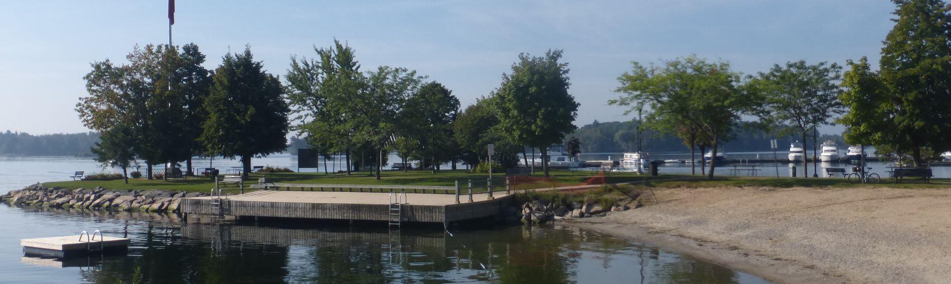 Parc de la Confédération, Gananoque, Ontario, Canada