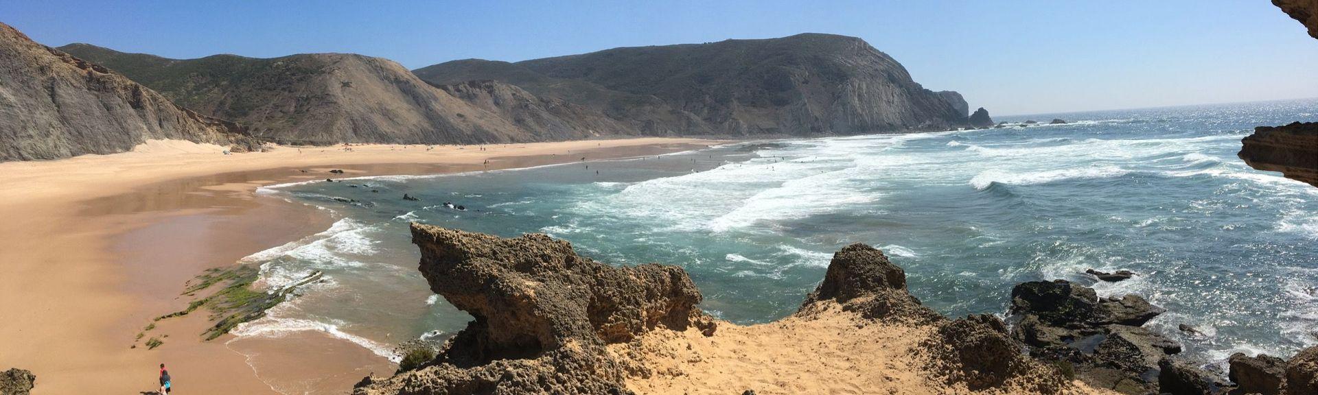 Praia do Mirouço, Vila do Bispo, Distrikt Faro, Portugal