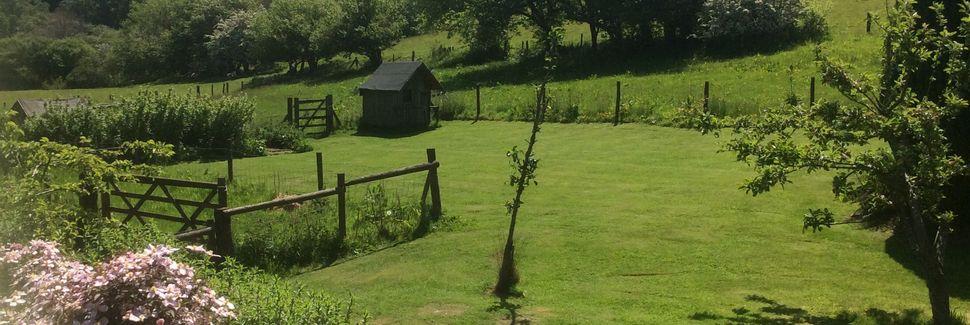 Knighton, Powys, UK