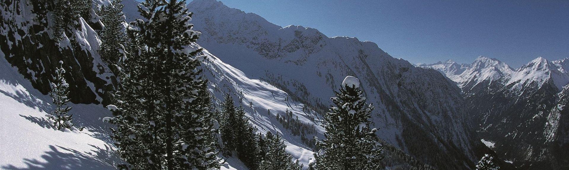 Cascate di Krimmler, Krimml, Salisburgo, Austria