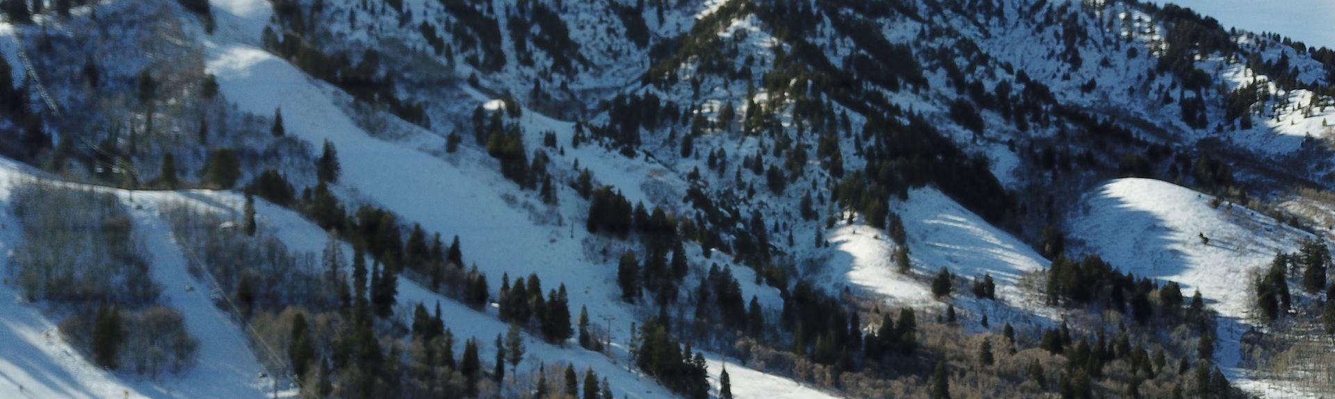Snowbasin Ski Resort, Huntsville, UT, USA