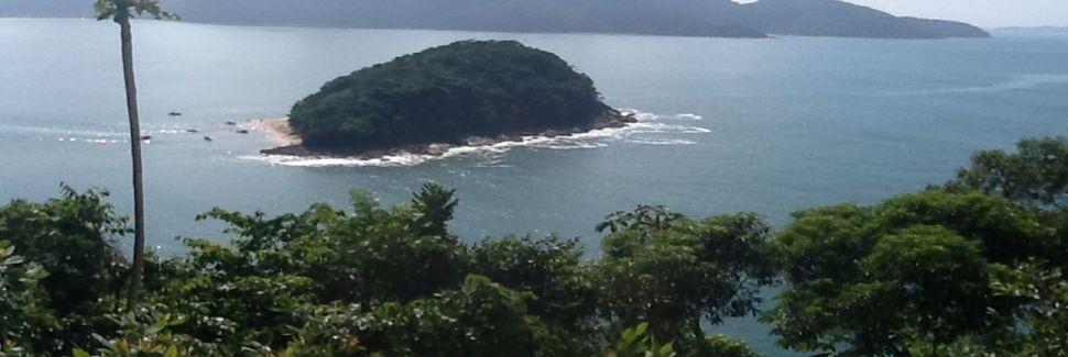 Wyspa Ilha do Tamanduá, Caraguatatuba, São Paulo, Brazylia