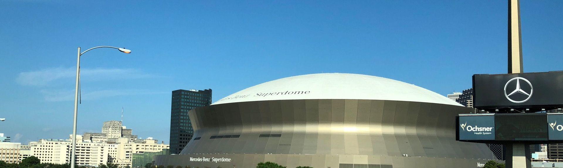 Mercedes-Benz Superdome, New Orleans, Louisiana, USA