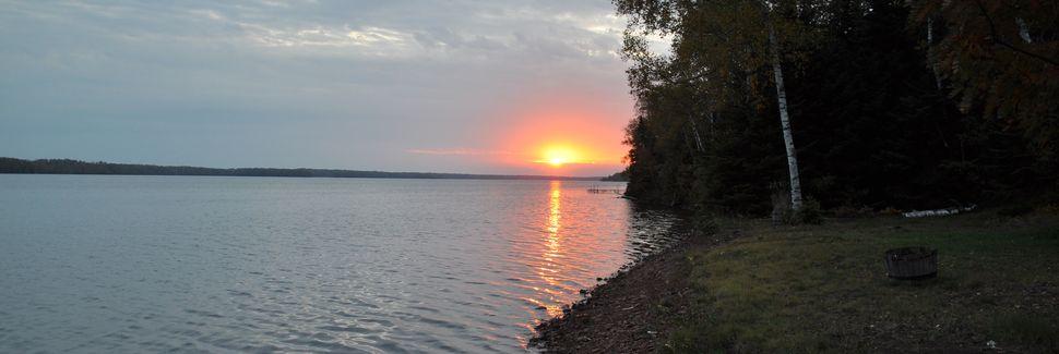 Road Lake, Grand Marais, Minnesota, Verenigde Staten