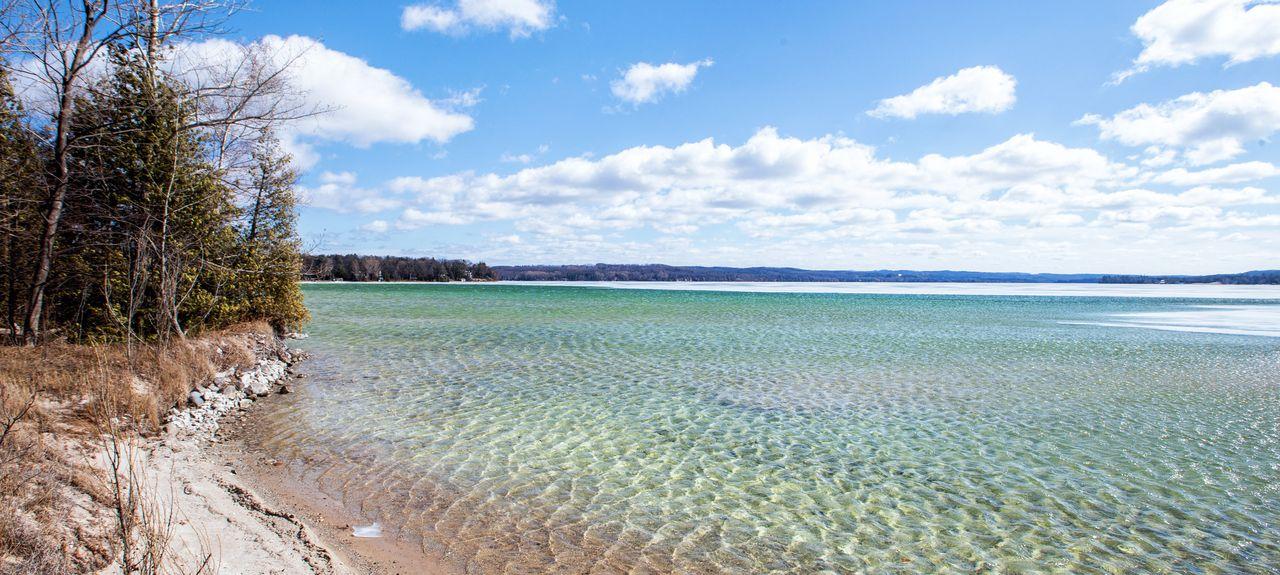 Lake Leelanau, Leland Township, Michigan, États-Unis d'Amérique