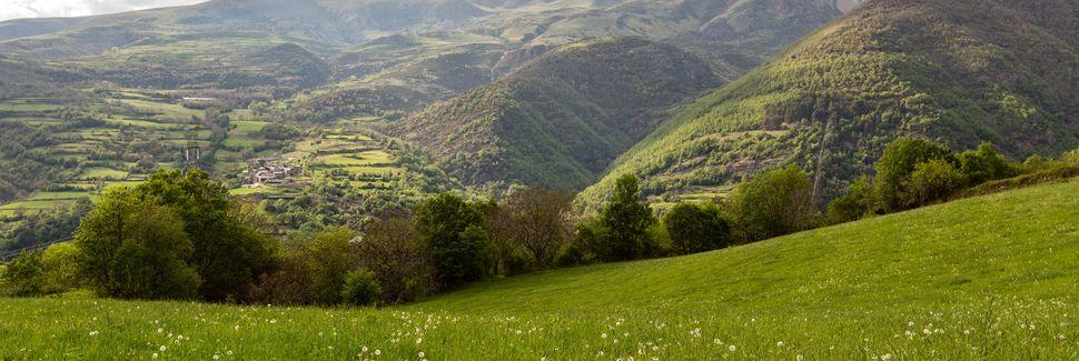 La Alta Ribagorza, Cataluña, España