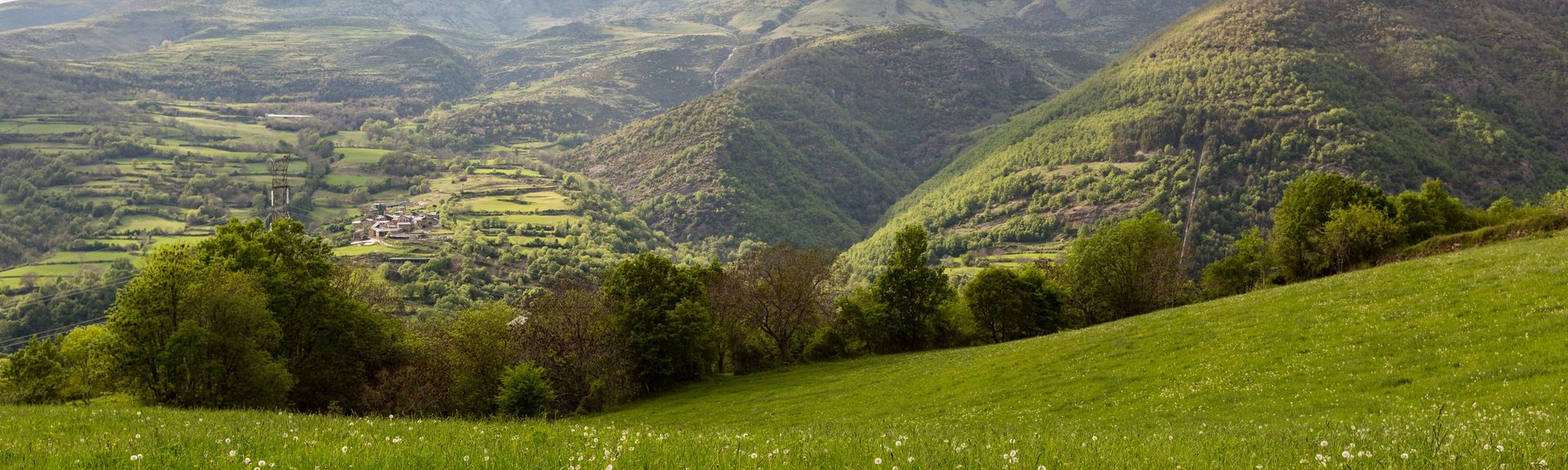 L'Alta Ribagorça, Catalonia, Spania