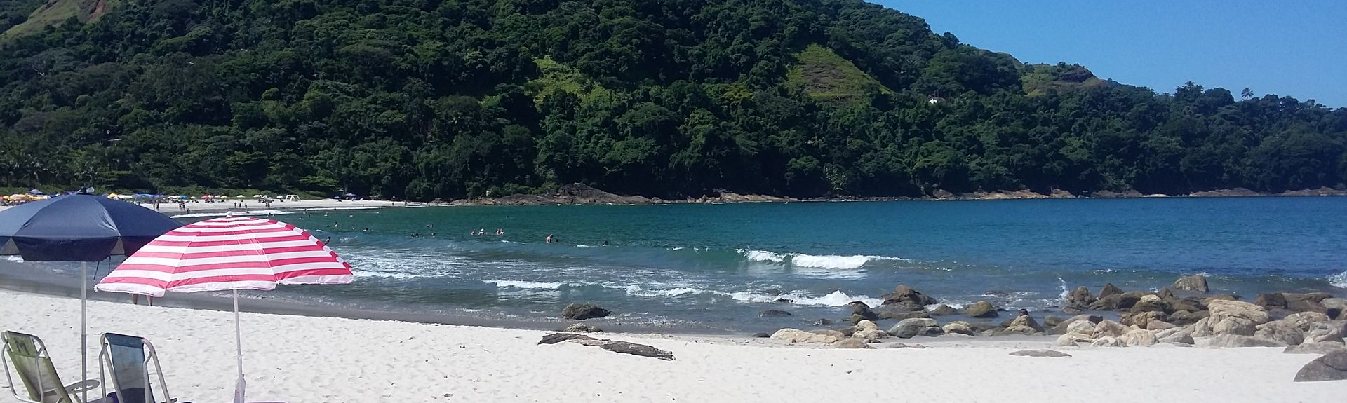 Brava Beach, Sao Sebastiao, Southeast Region, Brazil