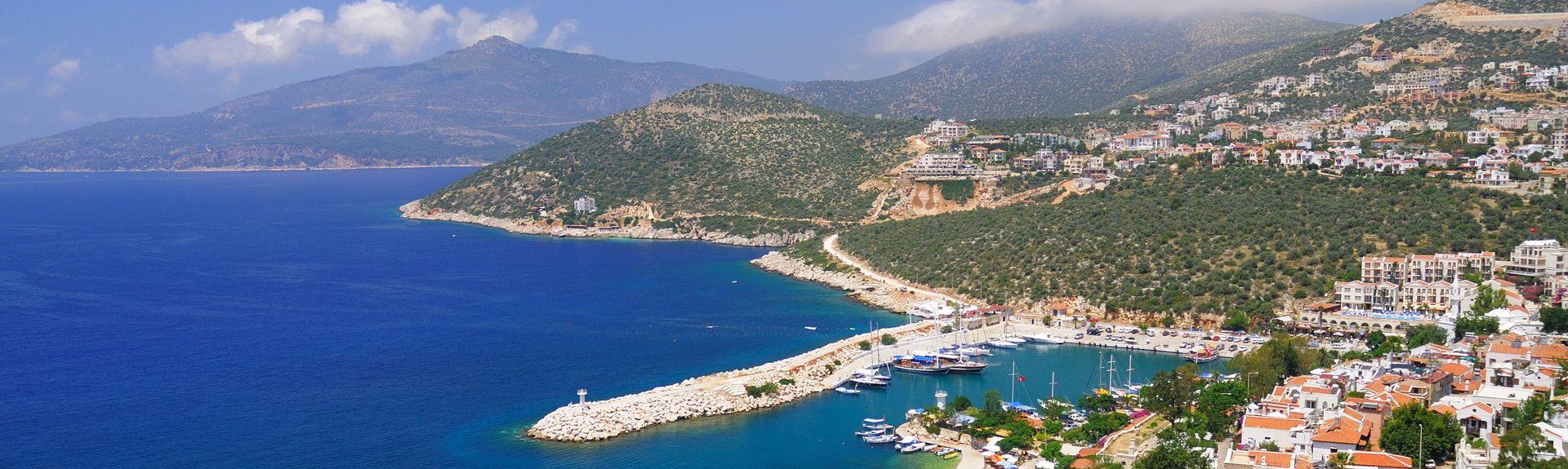 Kalkan, Kaş, Antalya (region), Turkey