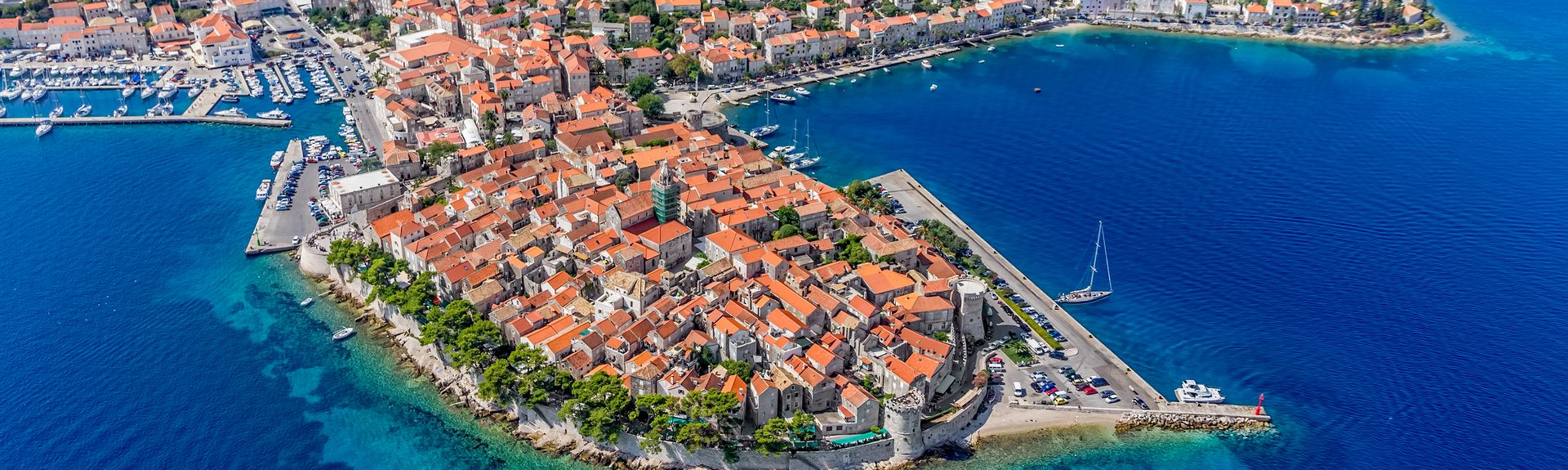 Korčula, Dubrovnik-Neretva, Kroatia