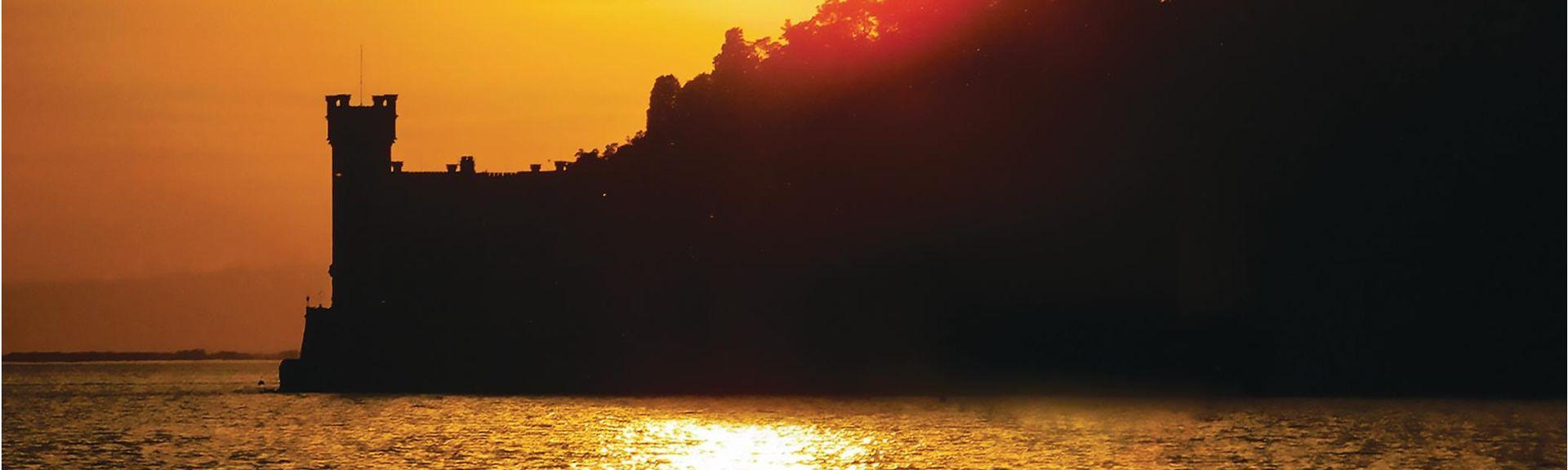 Trieste Adventure Park (park rozrywki), Duino-Aurisina, Friuli-Wenecja Julijska, Włochy