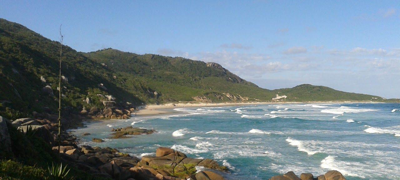 Praia de Ganchos de Fora, Governador Celso Ramos, Santa Catarina, BR