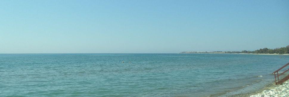 Plage Mackenzie, Larnaca, District de Larnaca, Chypre
