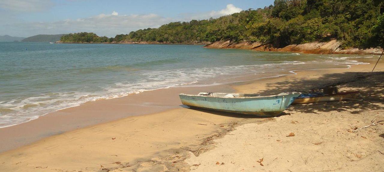 Spiaggia di Pereque Acu, Ubatuba, San Paolo, Brasile