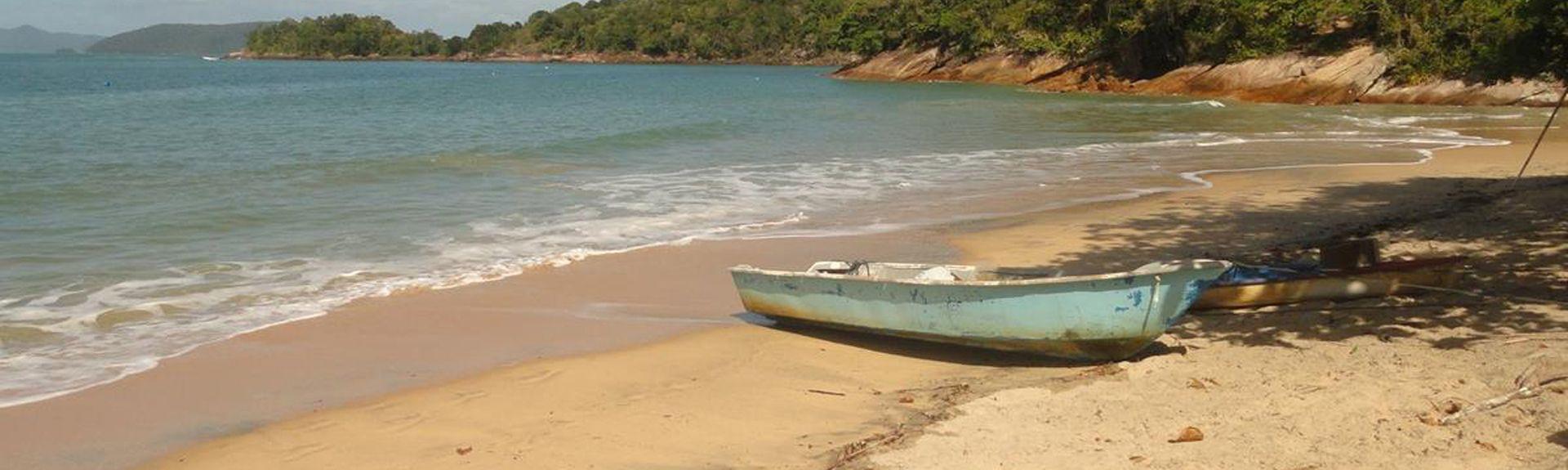 Praia Brava da Fortaleza, Ubatuba, São Paulo, Brasil