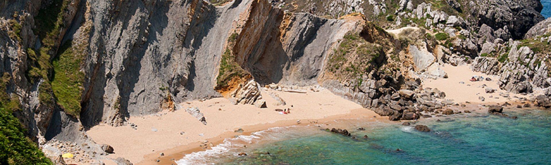 Comillas Beach, Comillas, Spain