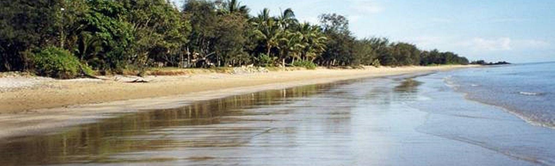 Four Mile Beach Park, Port Douglas, Queensland, Australia