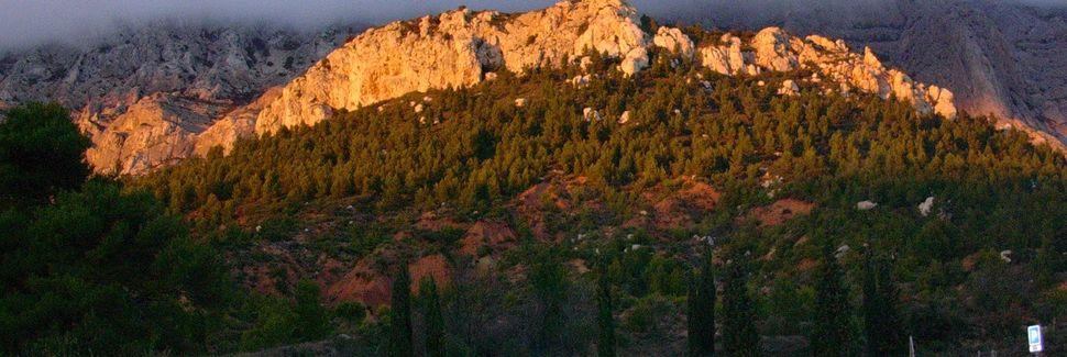 Jouques, Provence-Alpes-Côte d'Azur, Frankreich